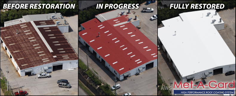 AWS Metal Roof Coating System